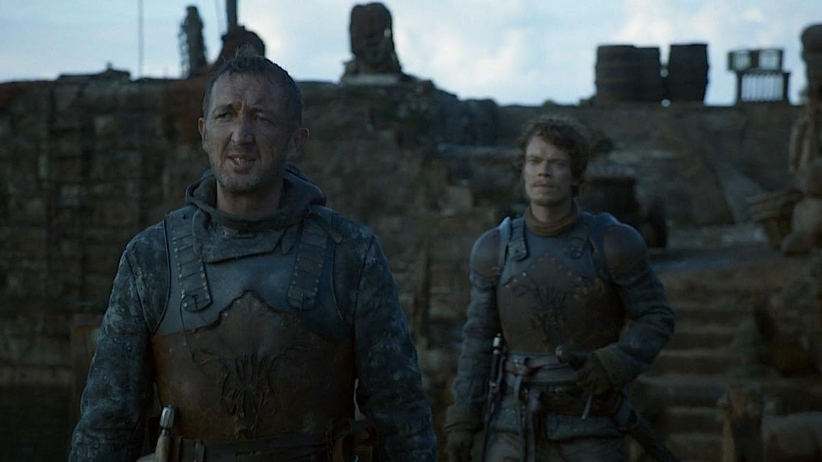 Ralph Ineson as Dagmar Cleftjaw in Game of Thrones