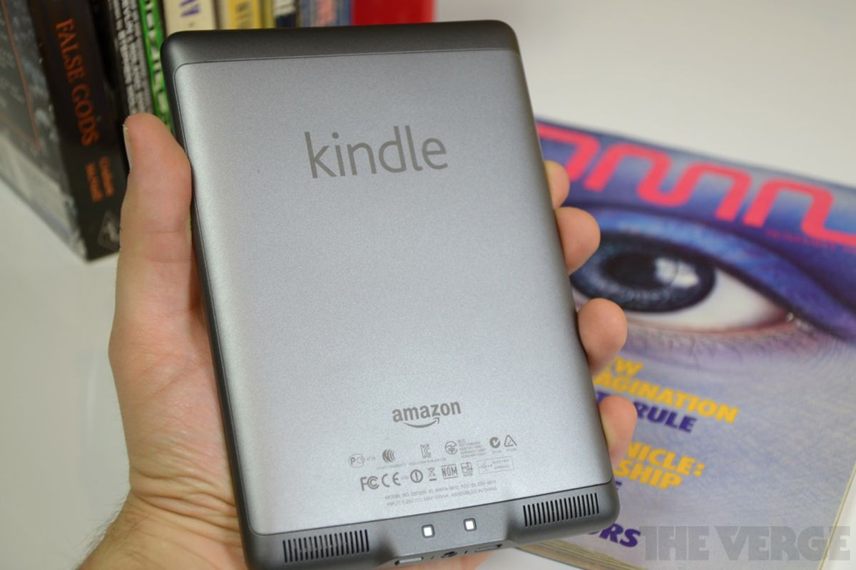 Kindle Touch 5 1 0 update adds international language