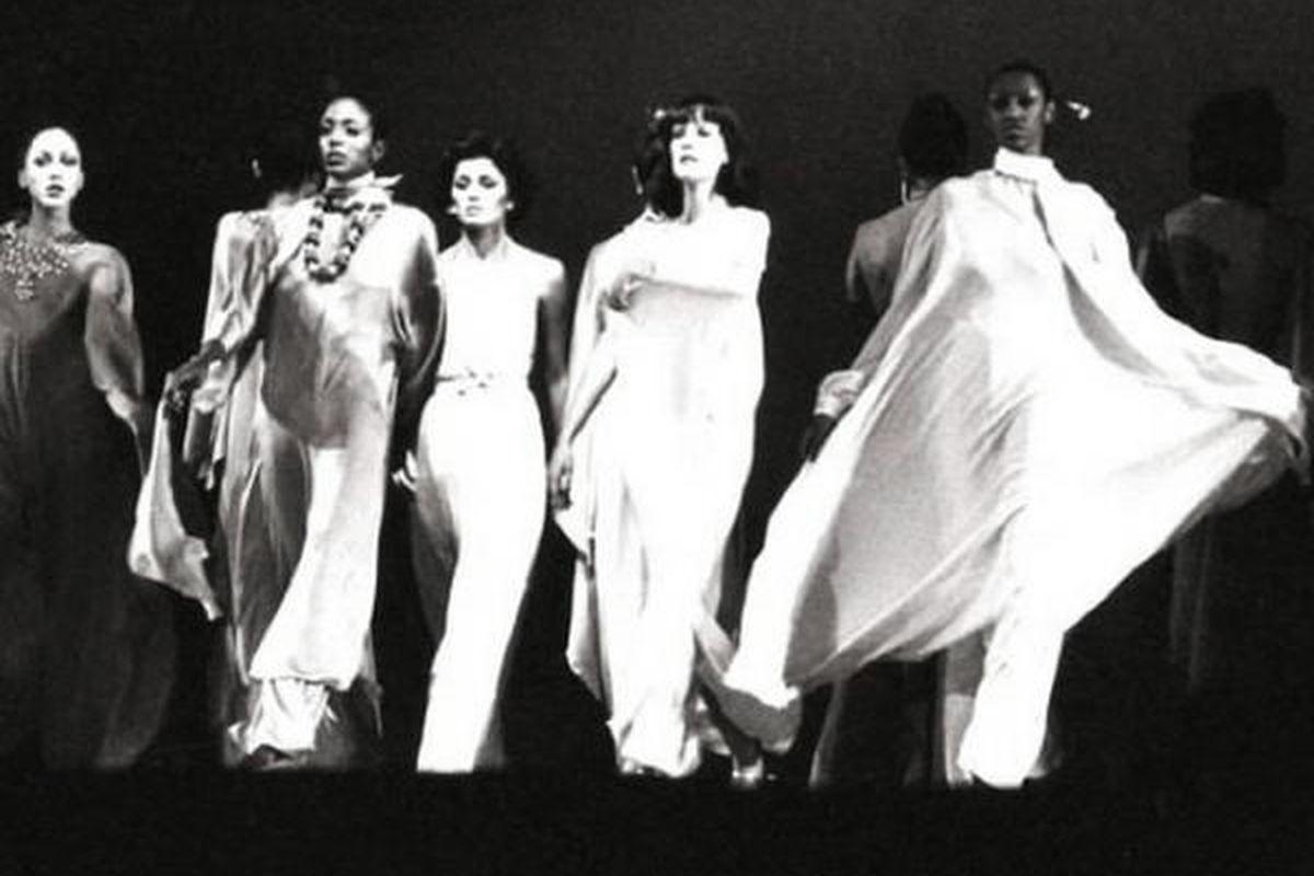 All stills from Versailles '73: American Runway Revolution