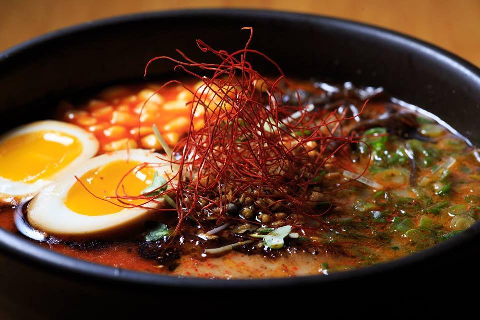 Spicy miso ramen at Shoku Ramen-ya