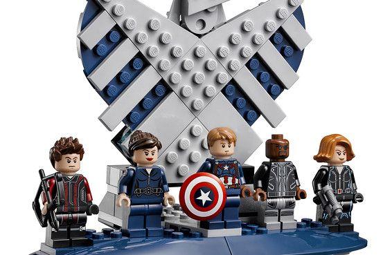 Lego Avengers SHIELD set