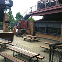 The patio. [Photo: Becky Ryan]
