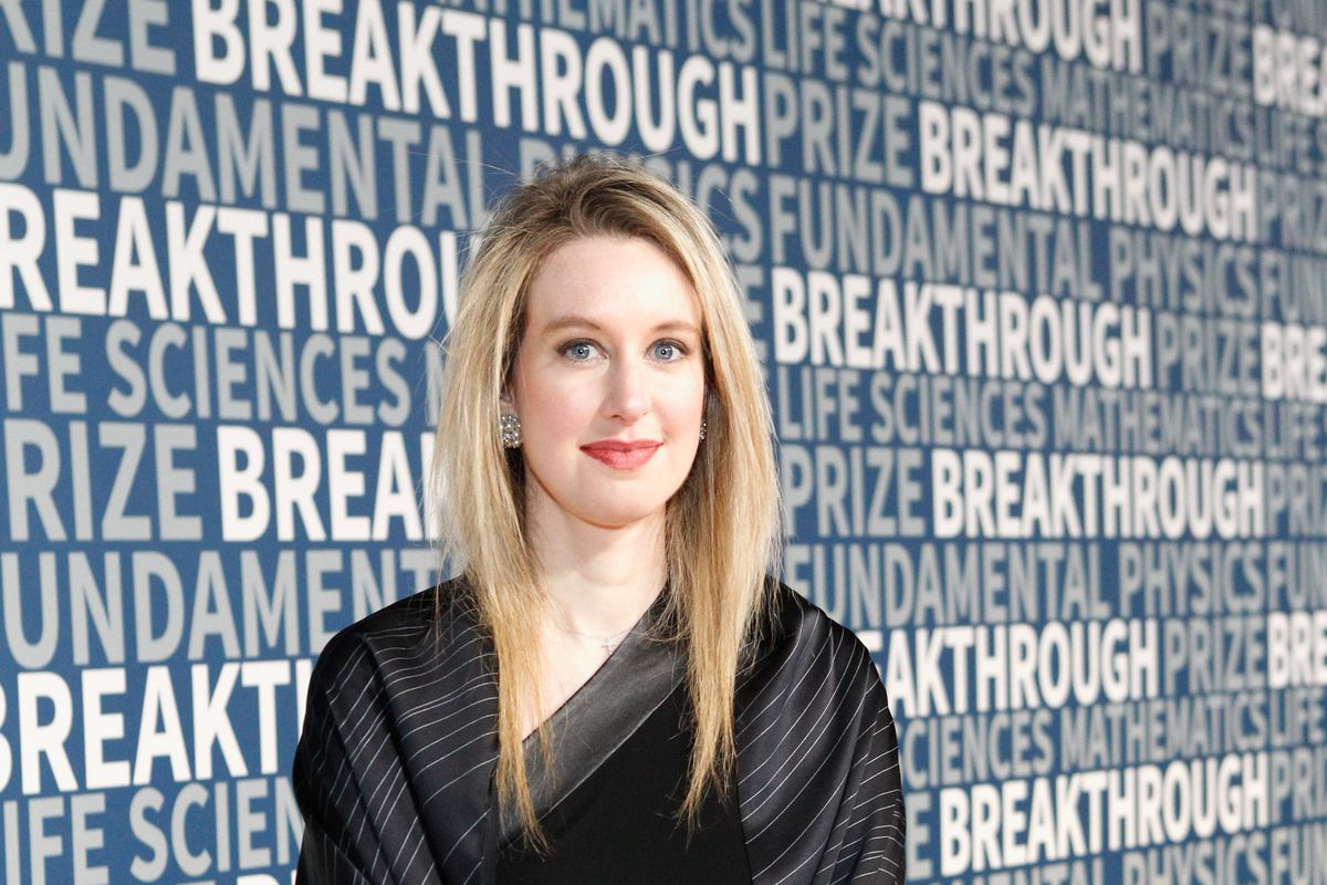 Theranos CEO Elizabeth Holmes attends the 2016 Breakthrough Prize Ceremony in November 2015 in Mountain View, California.