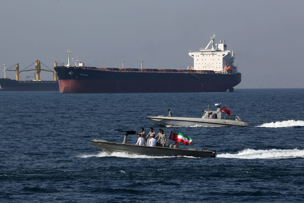 Image result for tankers in the persian gulf