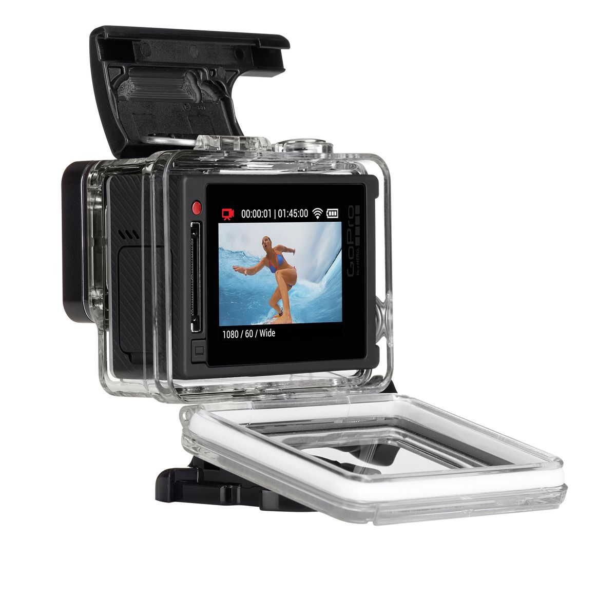 The new GoPro Hero4 Silver.