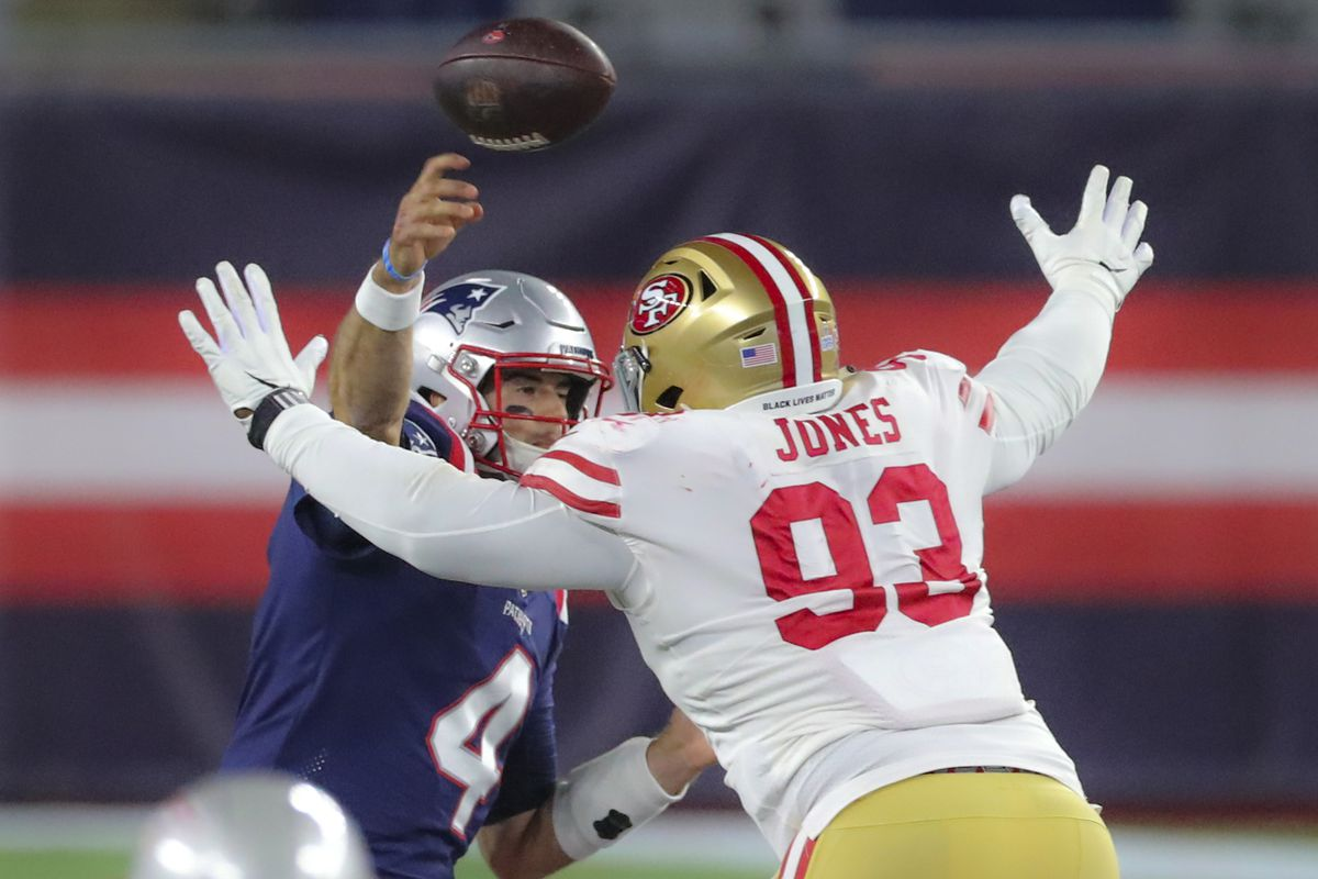 The 49ers Allowed The Fewest Yards In A Half On Defense Since 2012 Niners Nation