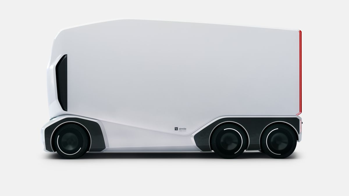 Drone Truck Einride