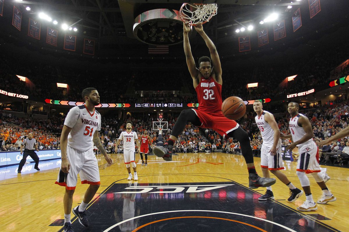 NCAA Basketball: Ohio State at Virginia