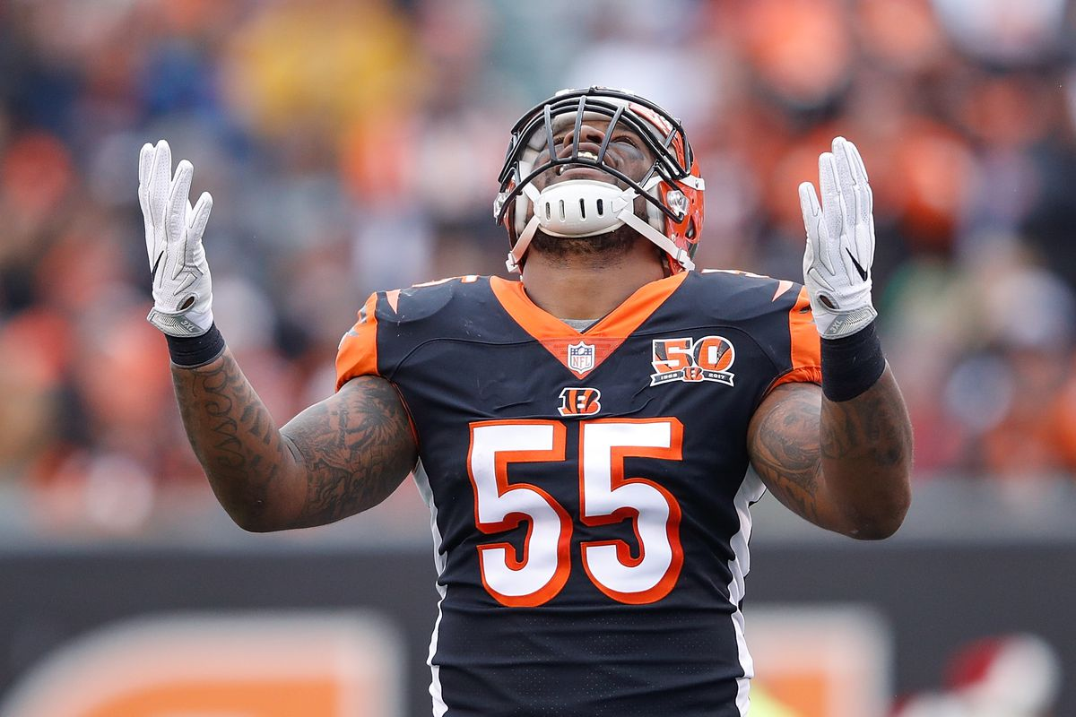 separation shoes acde6 40dad Vontaze Burfict seemingly avoids a fine for play against ...