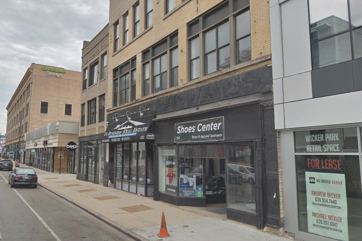 """Five people were arrested and several weapons were seized after police were called to a """"large party"""" Feb. 1, 2020, in the 1200 block of North Milwaukee Avenue in Wicker Park."""
