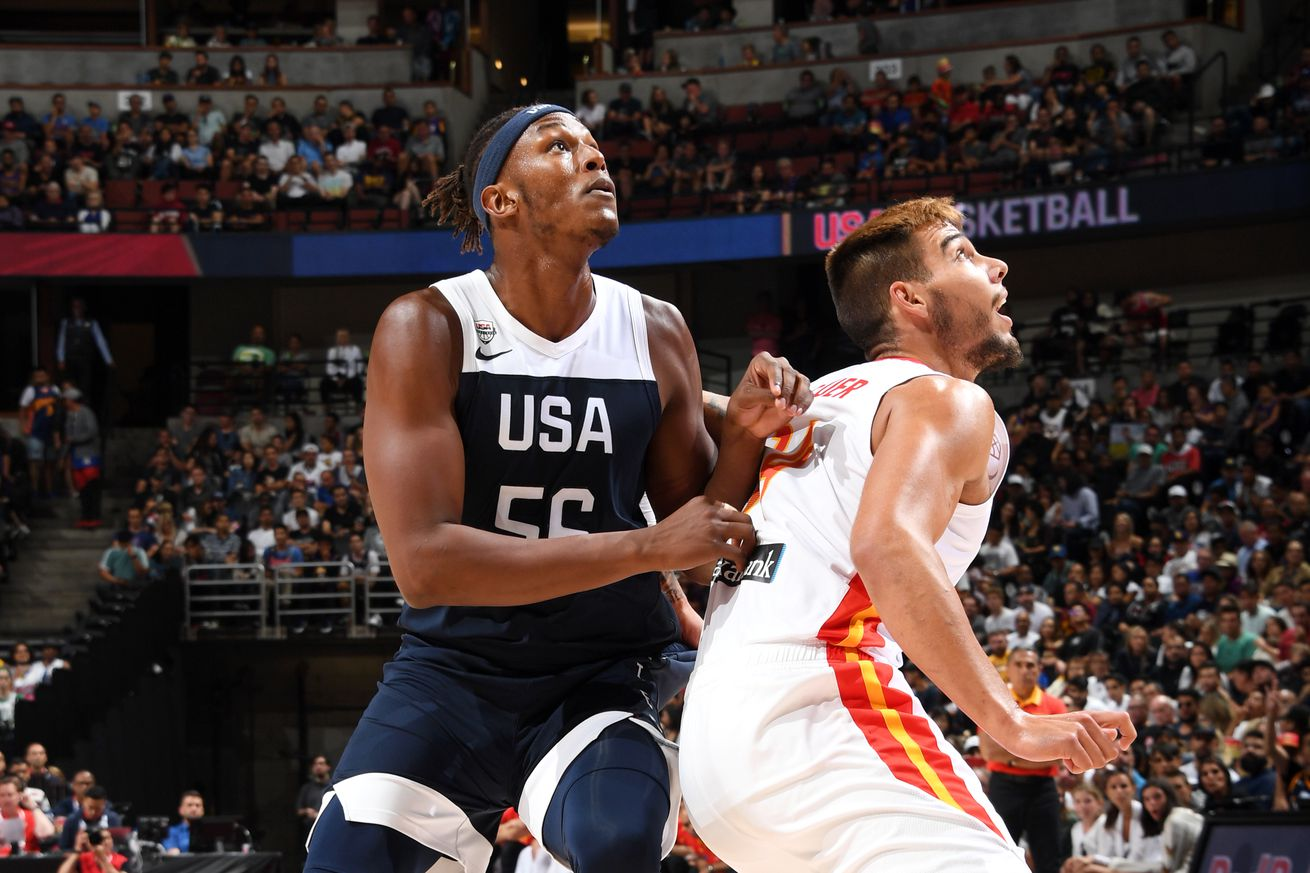 Myles Turner improves play in Team USA win over Spain