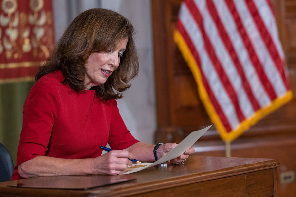 Governor Kathy Hochul announcing legislative session on Aug 31, 2021, dedicated to rent relief and extending the eviction moratorium through mid- January 2022