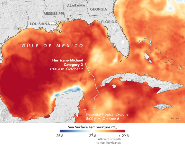 Map Of Florida Gulf Coast.Hurricane Michael Suddenly Got A Lot Scarier For Florida S Panhandle