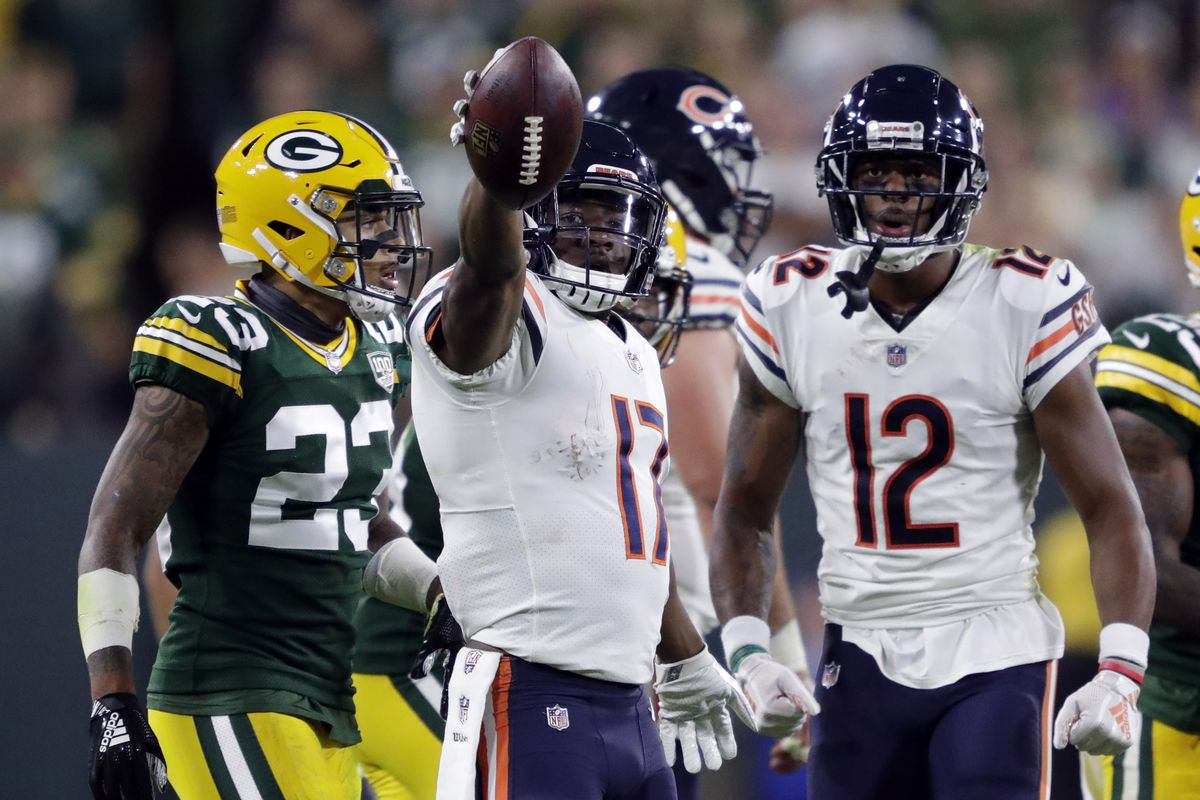 size 40 fd03e bb603 Packers vs. Bears Q&A: Chicago's playoff outlook - Acme ...
