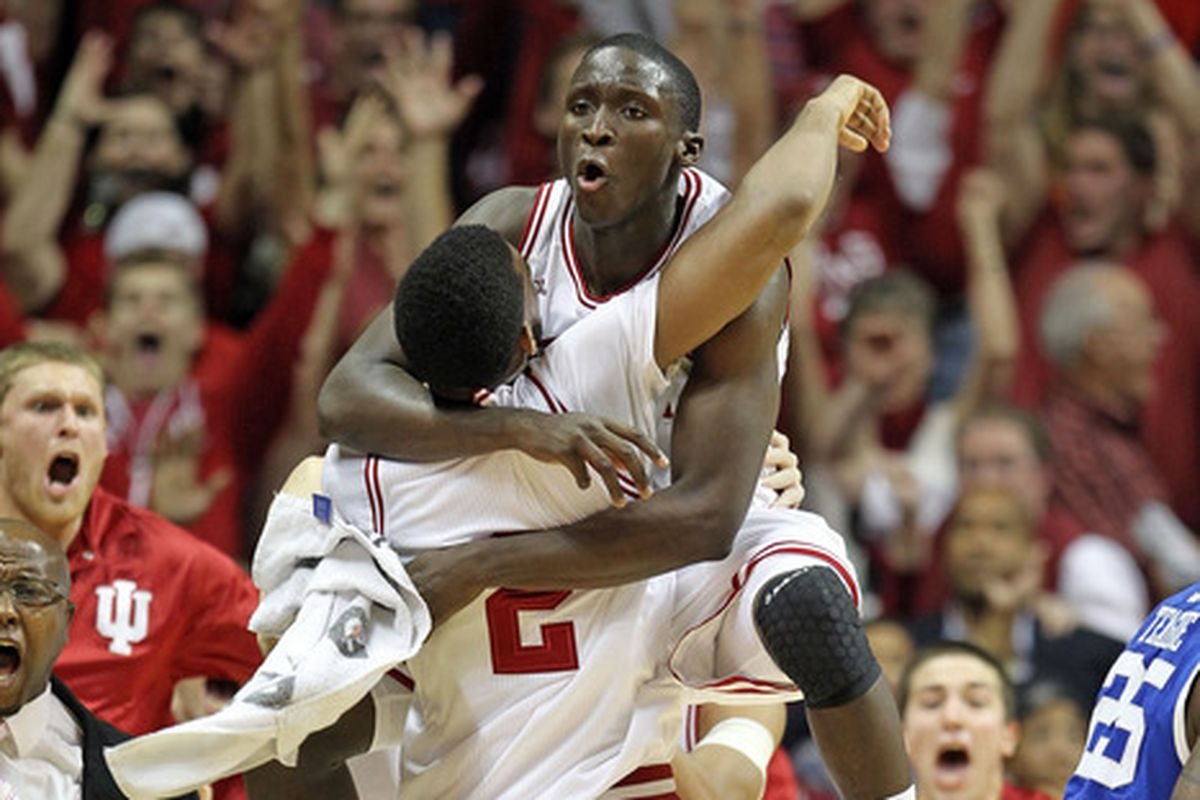 Indiana pulls off an upset of Kentucky. We won't be seeing any of these in Indiana's non-conference home schedule