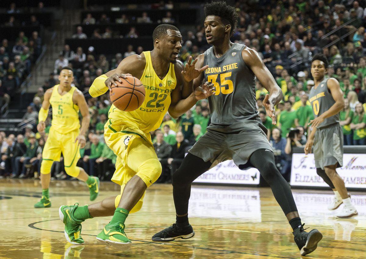 NCAA Basketball: Arizona State at Oregon