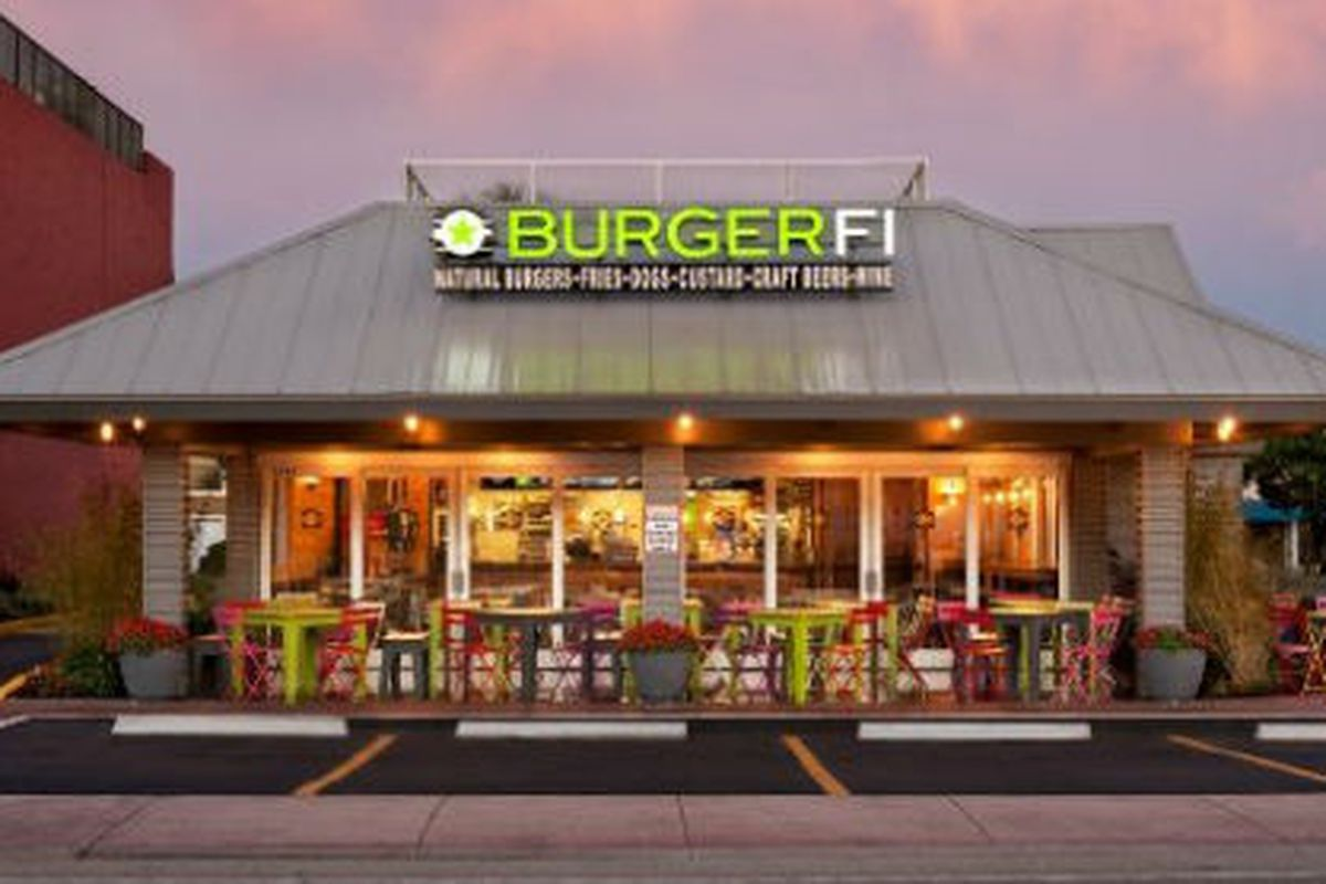 A BurgerFi location in Fort Lauderdale.