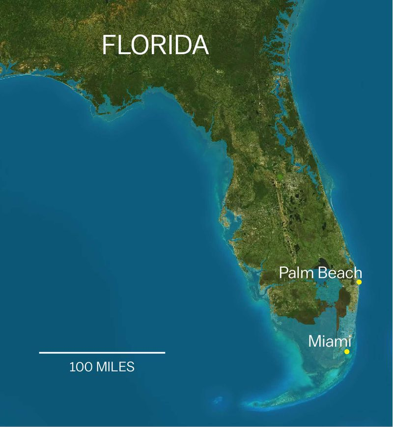 Trump Axed A Rule That Would Help Protect Coastal Properties Like - Sea level rise map florida