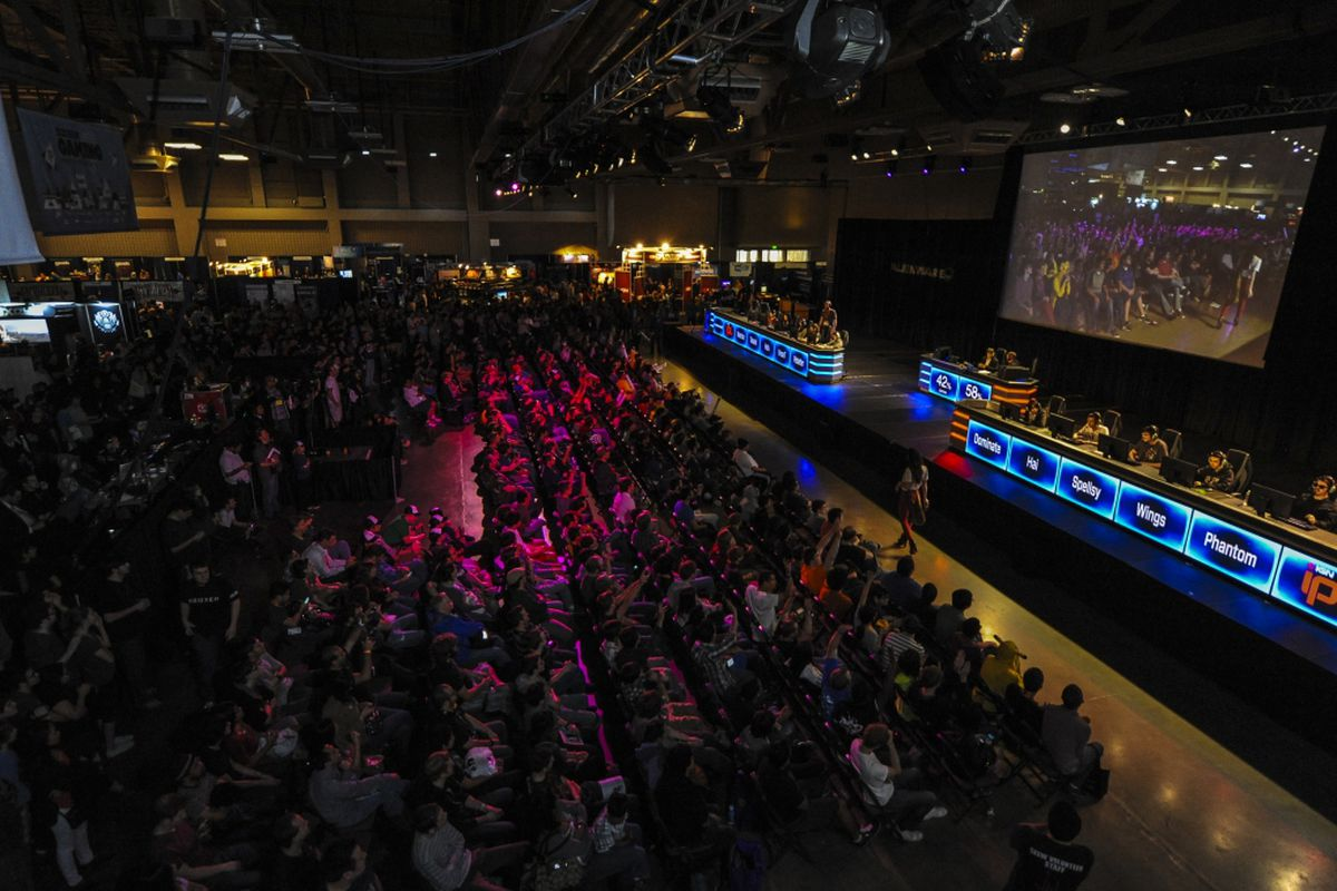 In previous years, the fierce competition at the Gaming Expo was the sportiest part of the event.