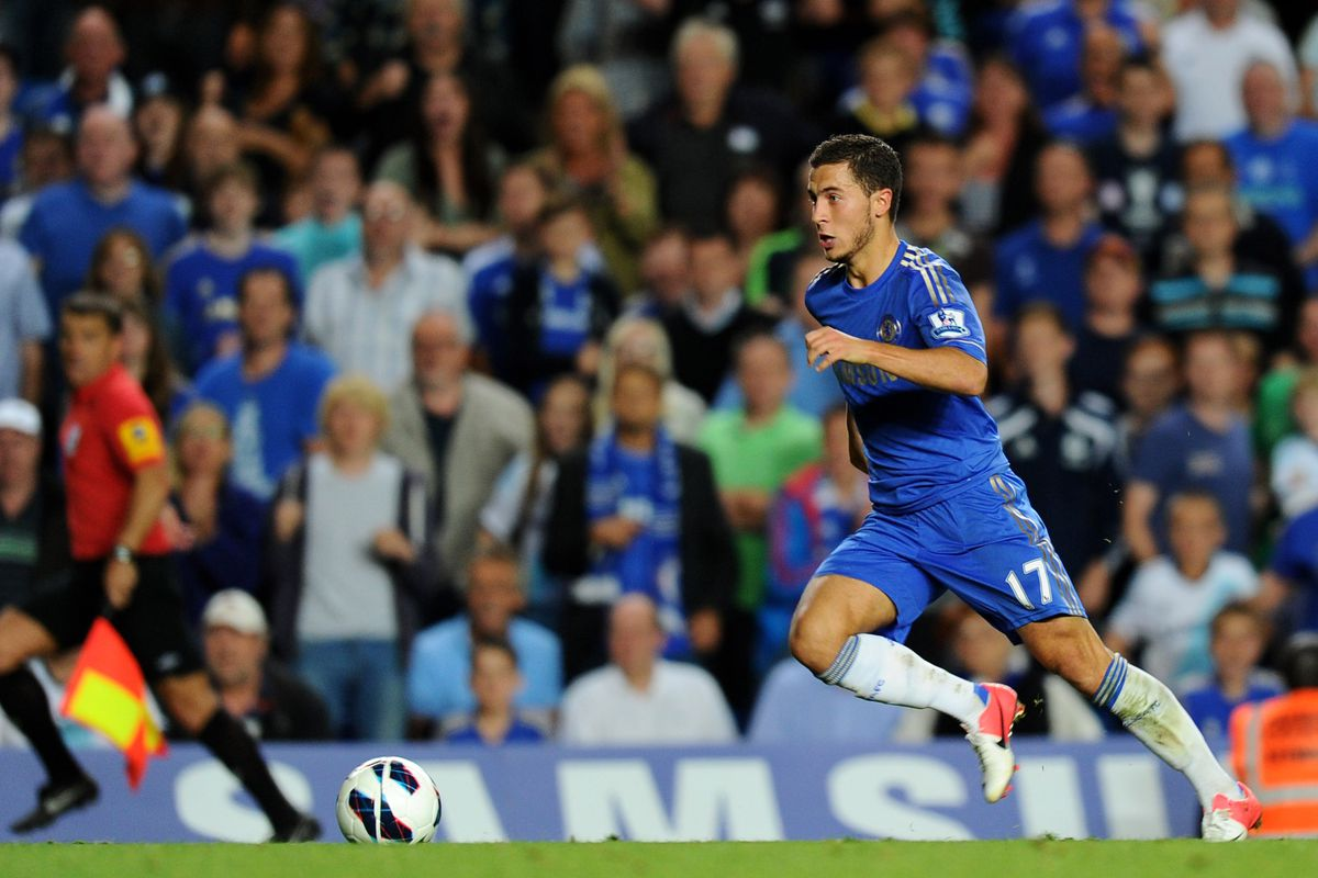 He's going to prove Hazard-ous to Stoke this weekend.