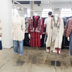 Half of the shoppable looks that Jane Aldridge curated for the show.
