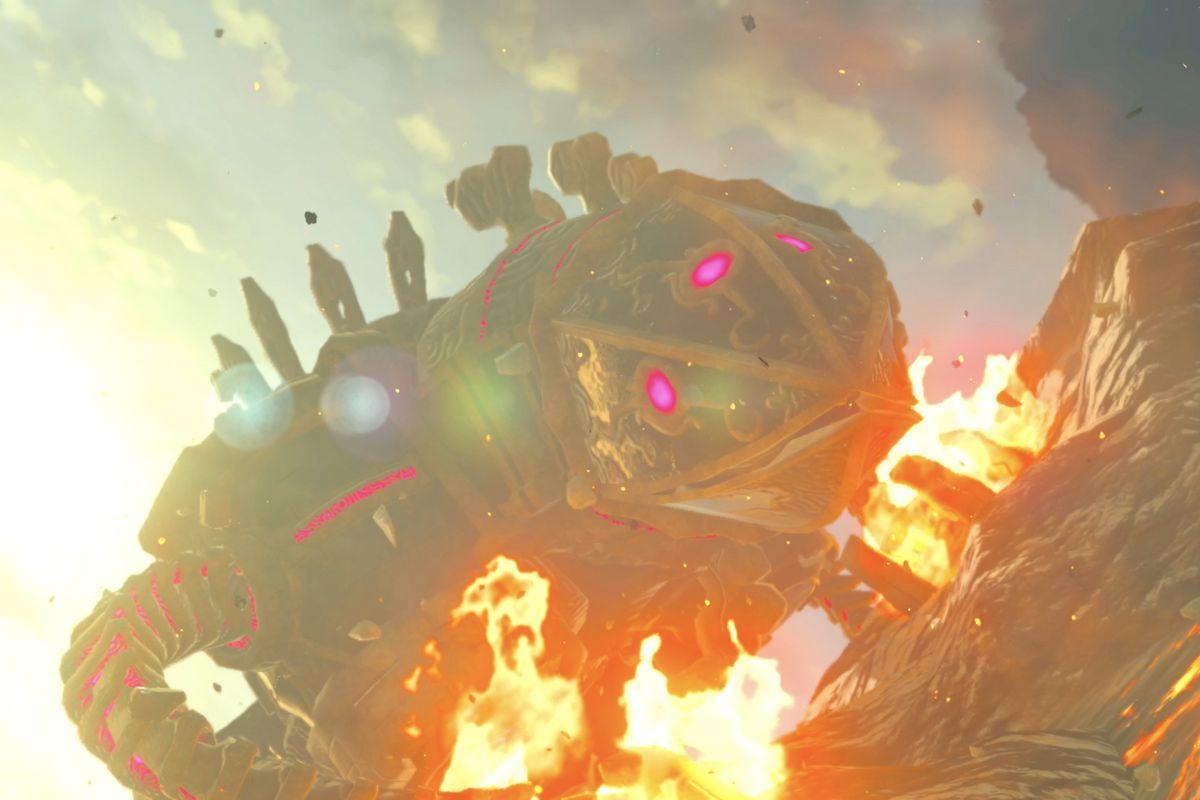 The Legend Of Zelda Breath Of The Wild Divine Beast Vah