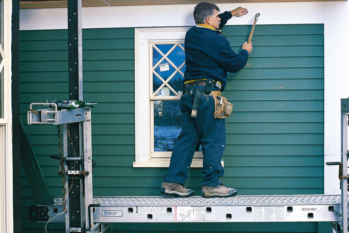 How To Hang Clapboard Siding This Old House