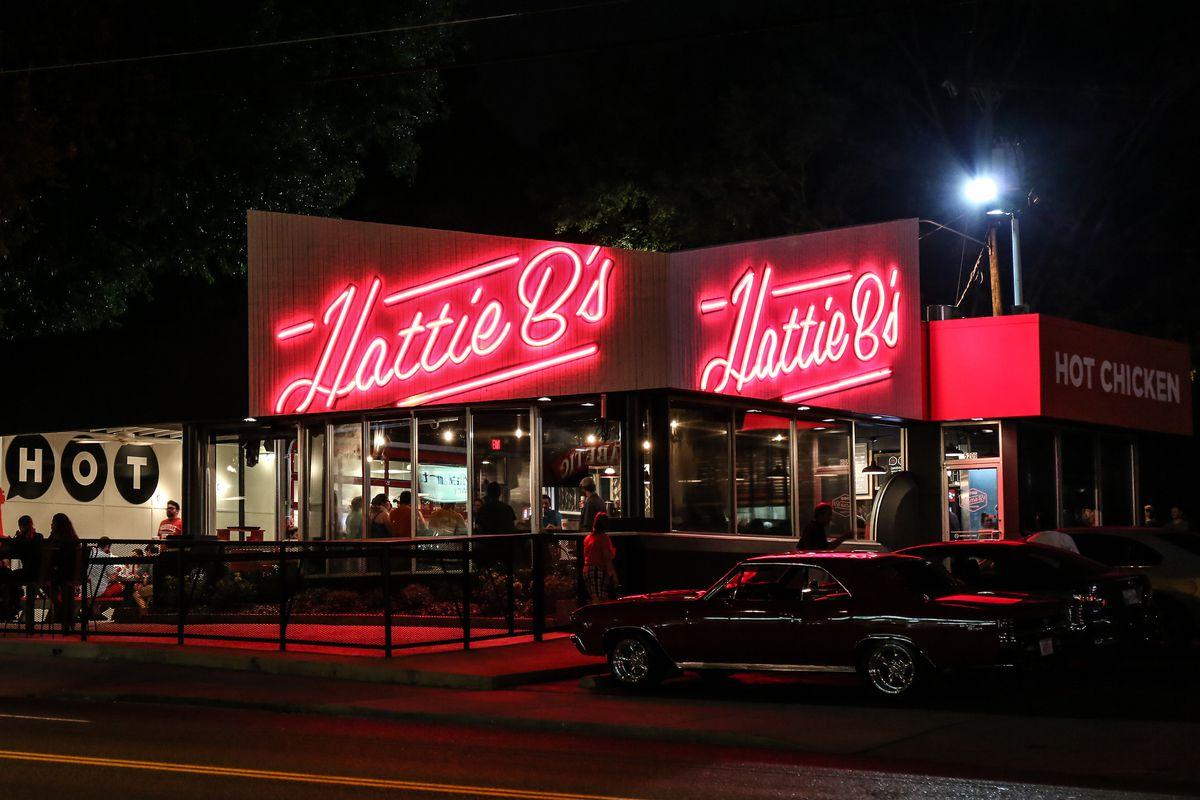 Hattie B's in Nashville.