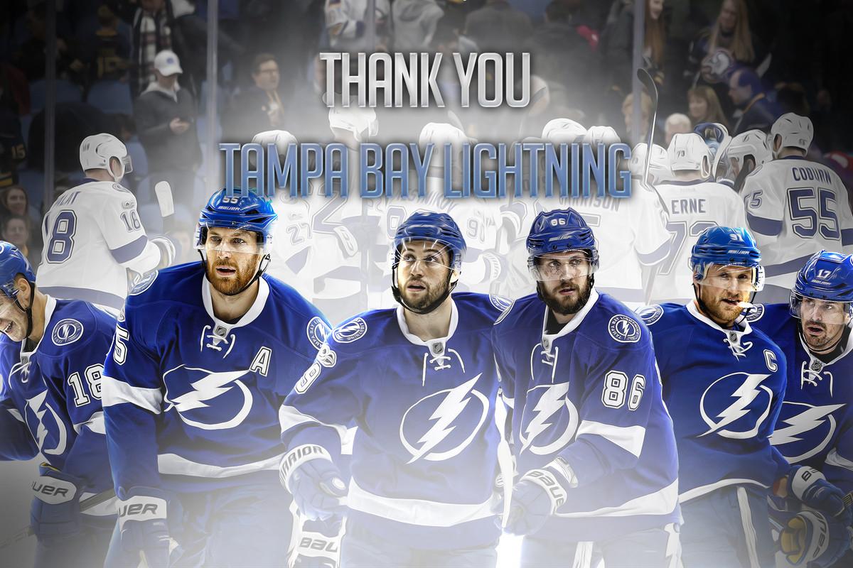 Thank You Tampa Bay Lightning Wallpaper RxlandS