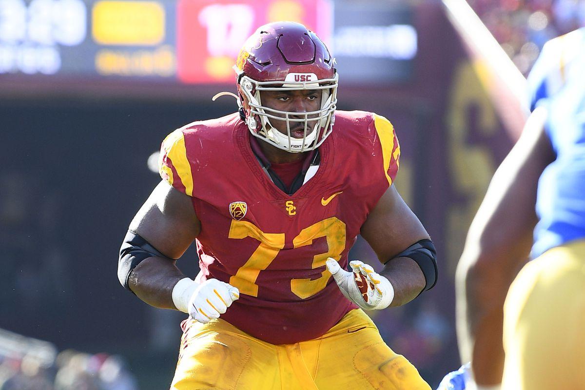 2020 NFL Draft Profile: USC Left Tackle Austin Jackson - Mile High ...