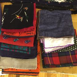 Pocket squares, $19