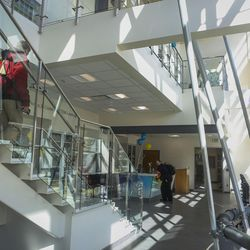 The Dumke Center for STEM Learning at Salt Lake Community College in Taylorsville is pictured on Wednesday, March 1, 2017. The dynamic, new and collaborative space is located in the college's Science and Industry Building. The center staff is committed to preparing students to reach their full potential by providing tutoring services and hands-on workshops designed to help build self-confidence, expand critical-thinking skills and become lifelong active learners.