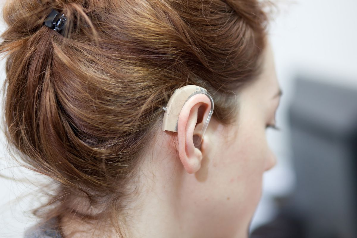 Only 20 to 25 percent of U.S. adults who need hearing aids actually wear them.   THINKSTOCK IMAGES