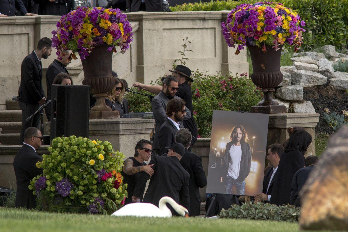 Chris Cornell Funeral Service
