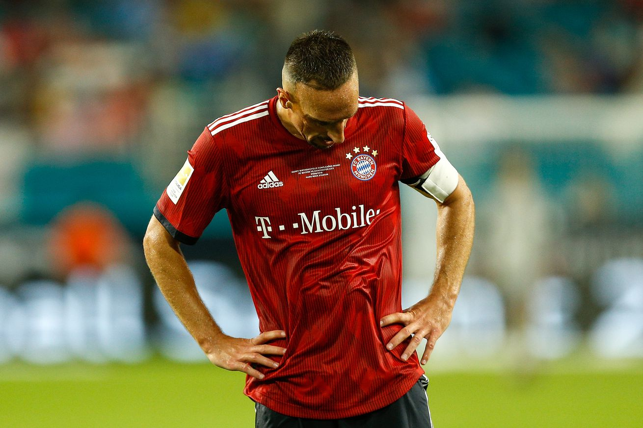 """The end of Robbery"""" Franck Ribery hints at leaving Bavaria"""