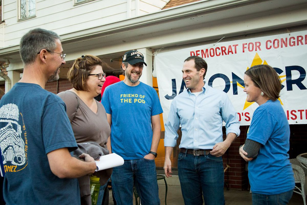 Democratic House Candidate Jason Crow Thinks He Can Run On ...