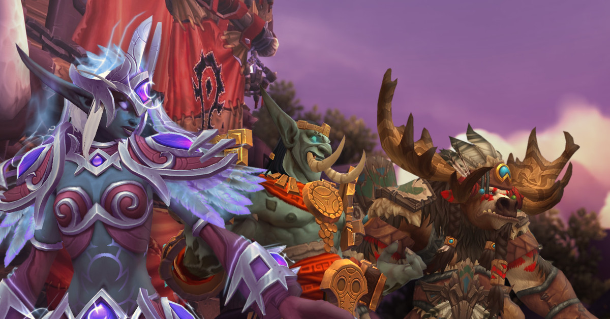 The original Allied Races still have a part to play in World of Warcraft's story