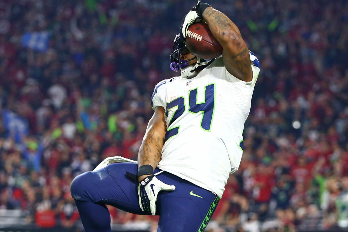 reputable site a6d73 c658c Marshawn Lynch is the Seahawks - SBNation.com