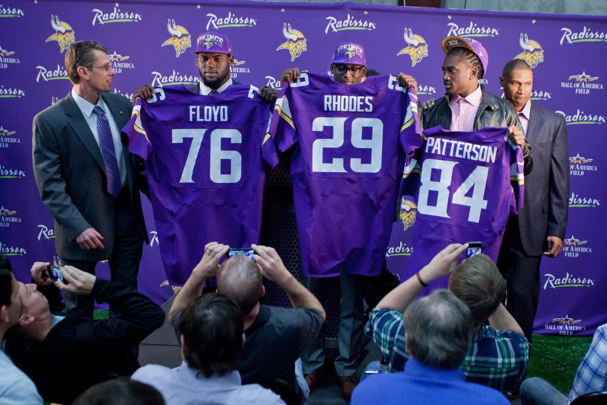 The Vikings killed it in Round 1 last year. Can Rick Spielman pull off a repeat performance?