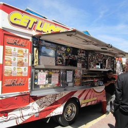 Fuku Burger was one of the food trucks on hand.