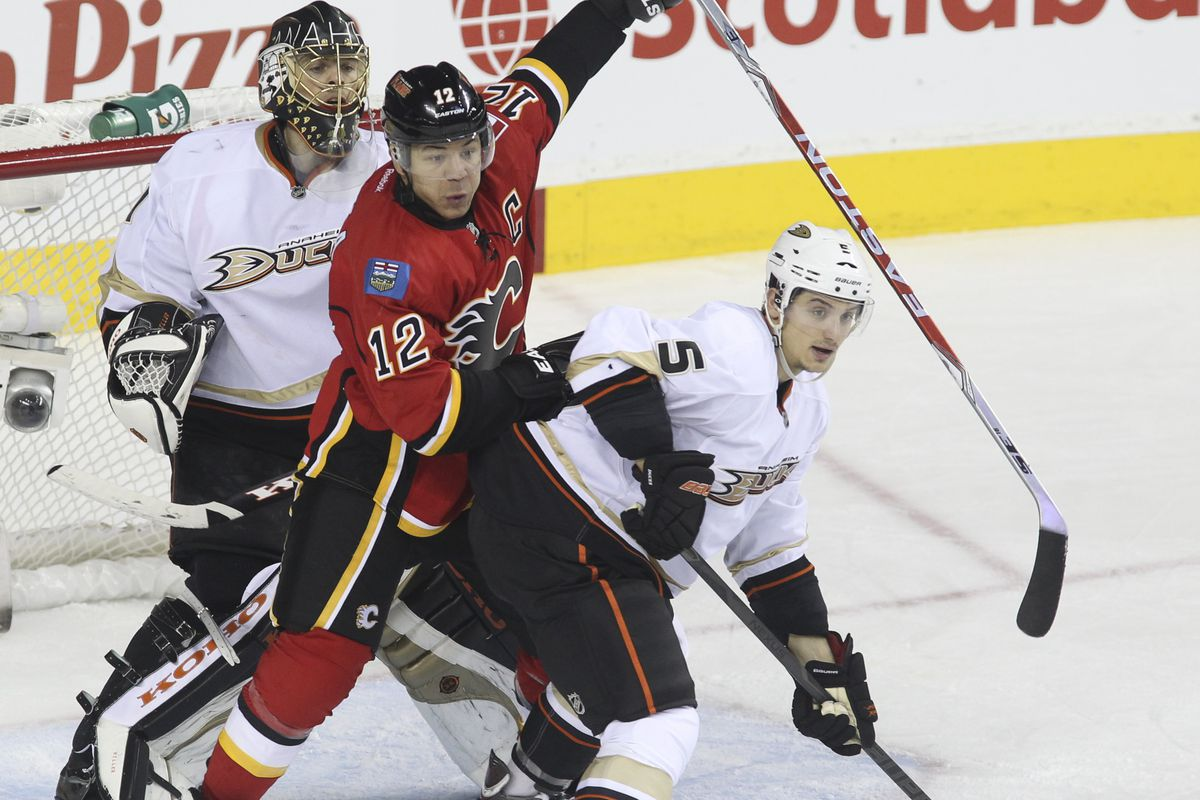 Calgary's season: a complete trainwreck yet you can't help but stare.