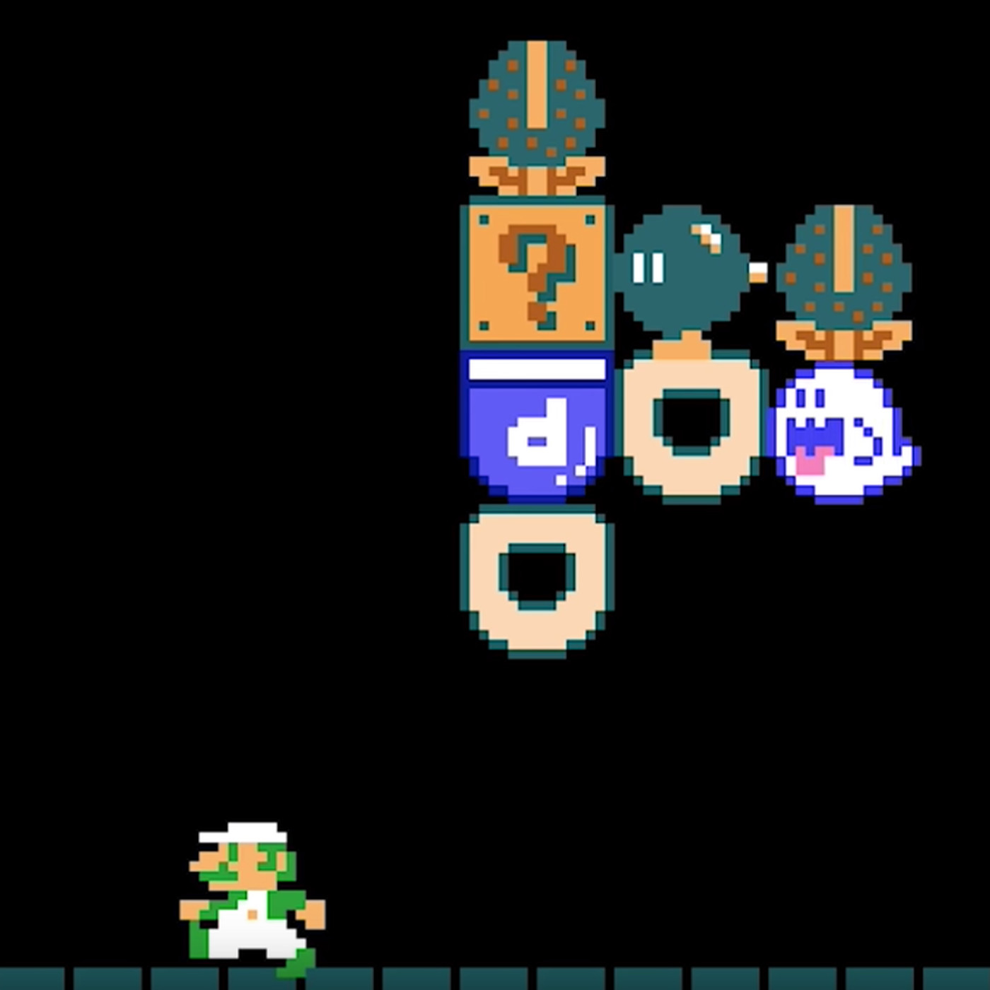 There's no looking back in this Super Mario Maker 2 level