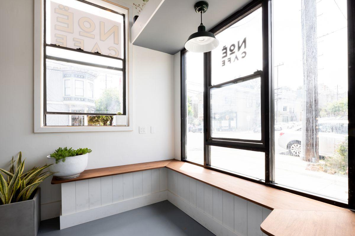 Original coffee window at Noe Cafe