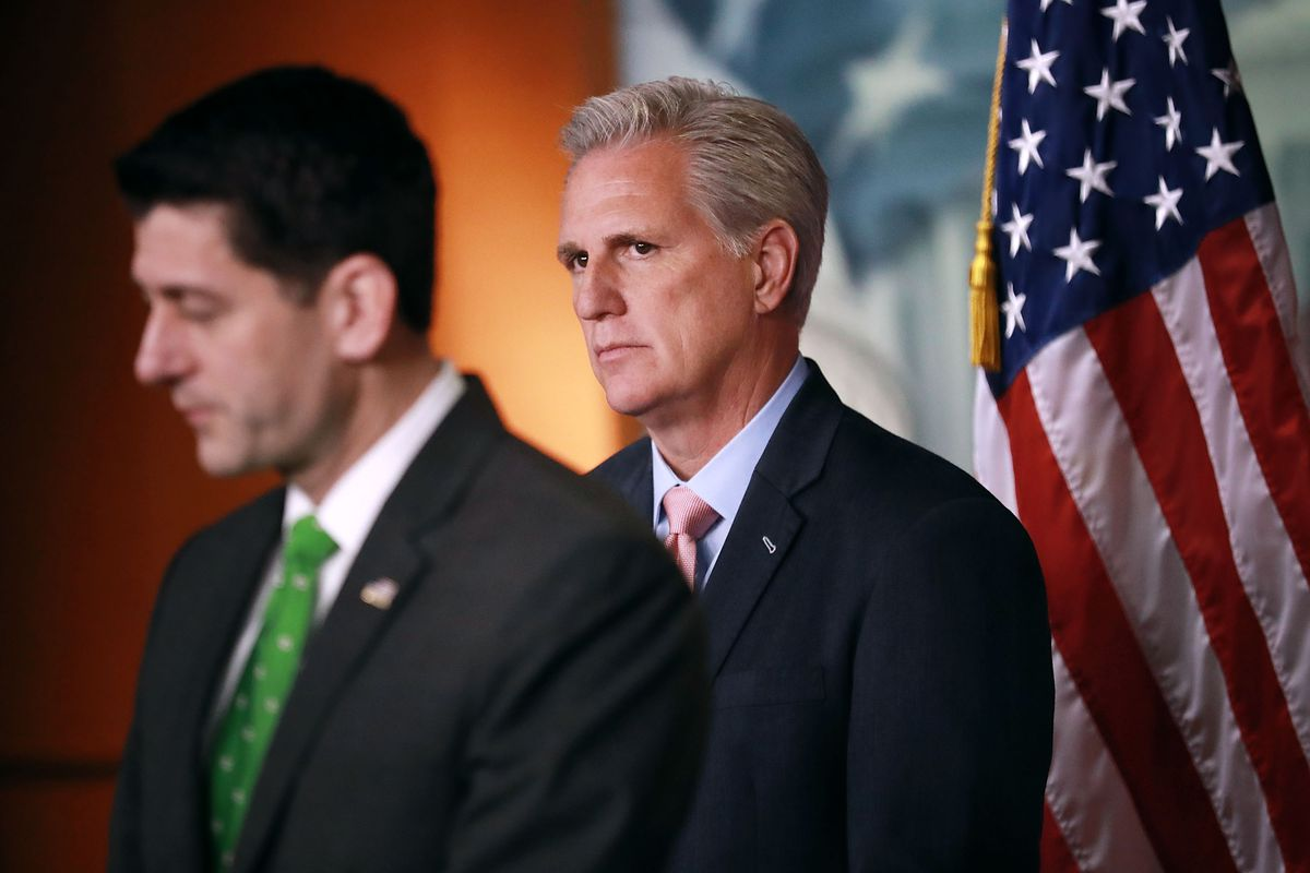 House GOP Leaders Speak To Press After Conference Meeting