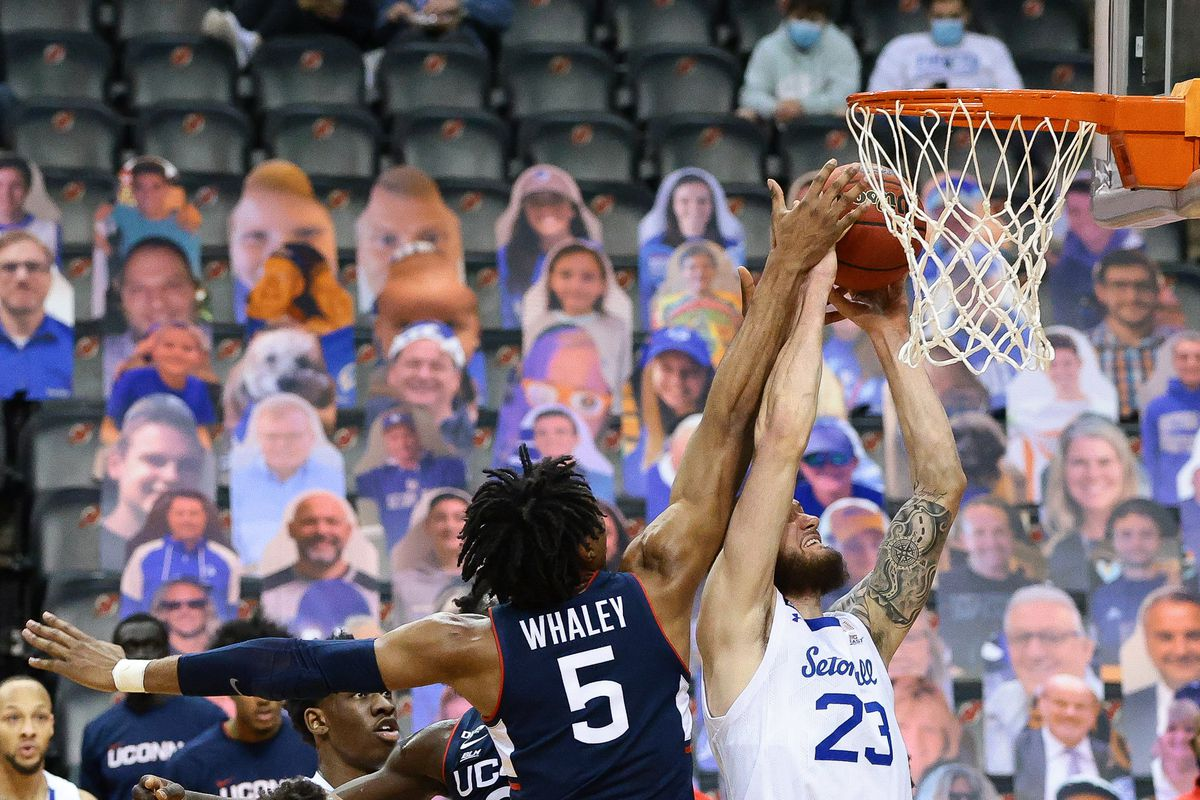 NCAA Basketball: Connecticut at Seton Hall