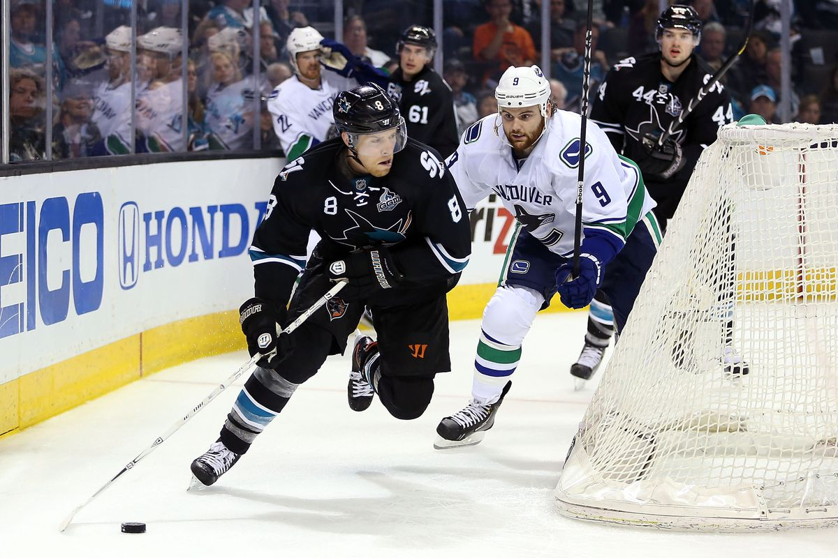 Joe Pavelski led all former Badgers with four goals and eight points in round one.