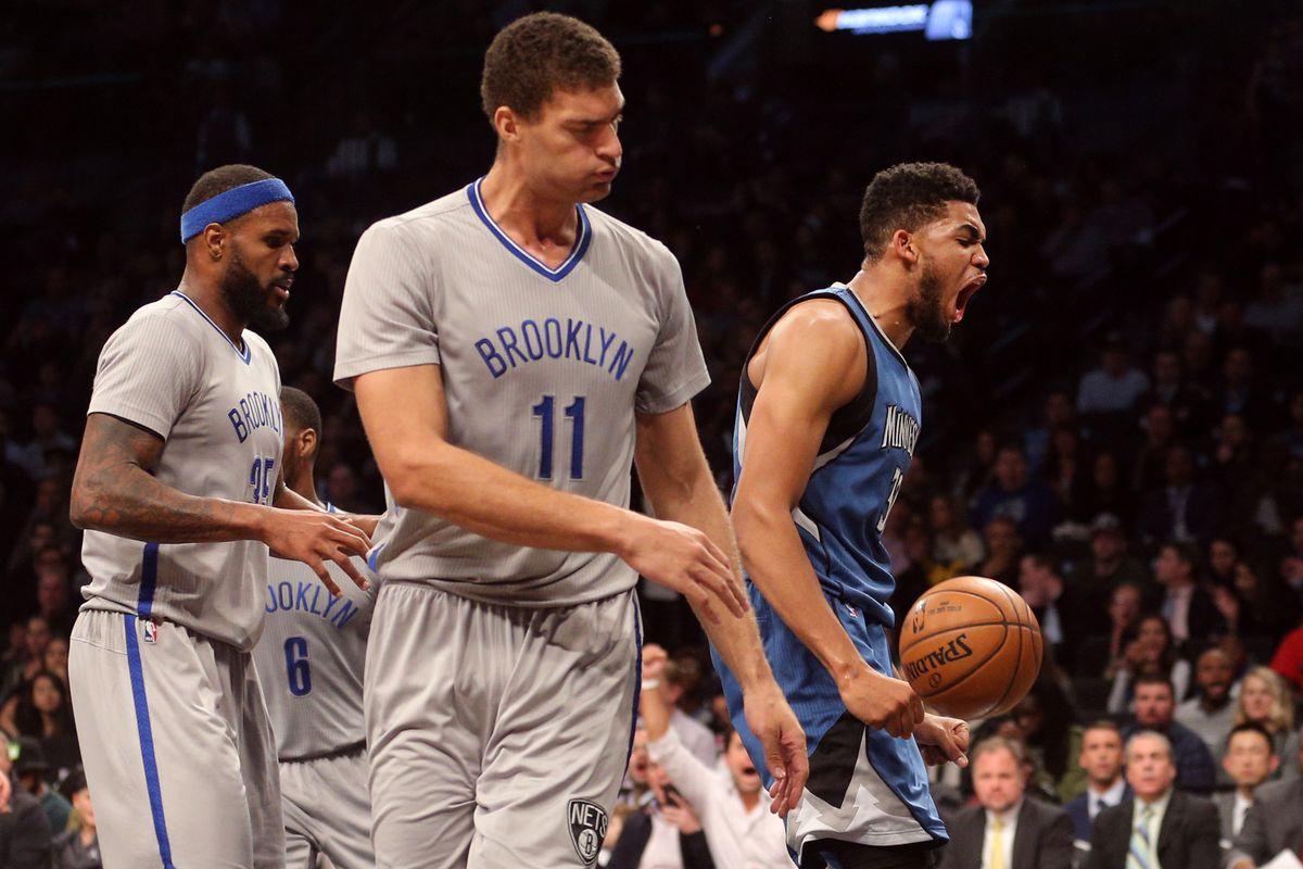 NBA: Minnesota Timberwolves at Brooklyn Nets