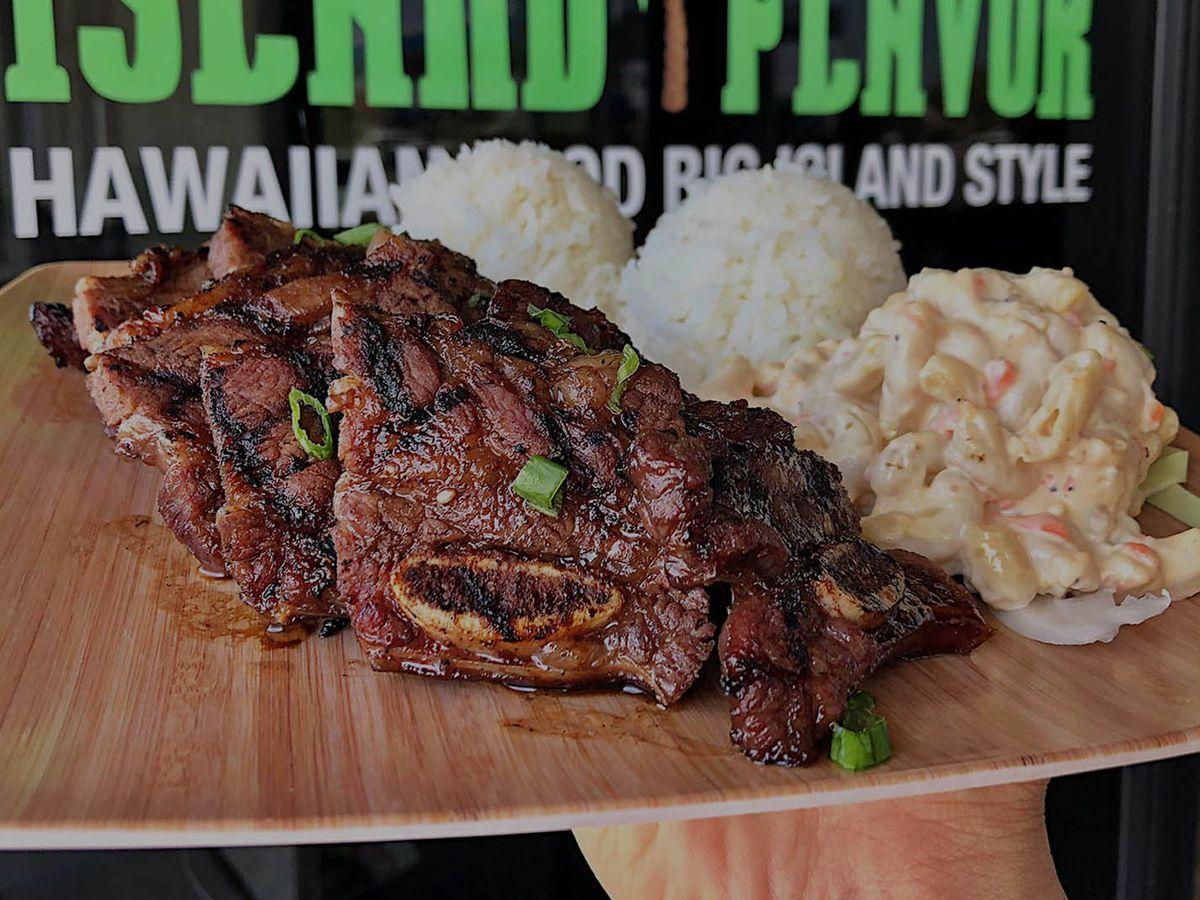 Kalbi ribs at Island Flavor