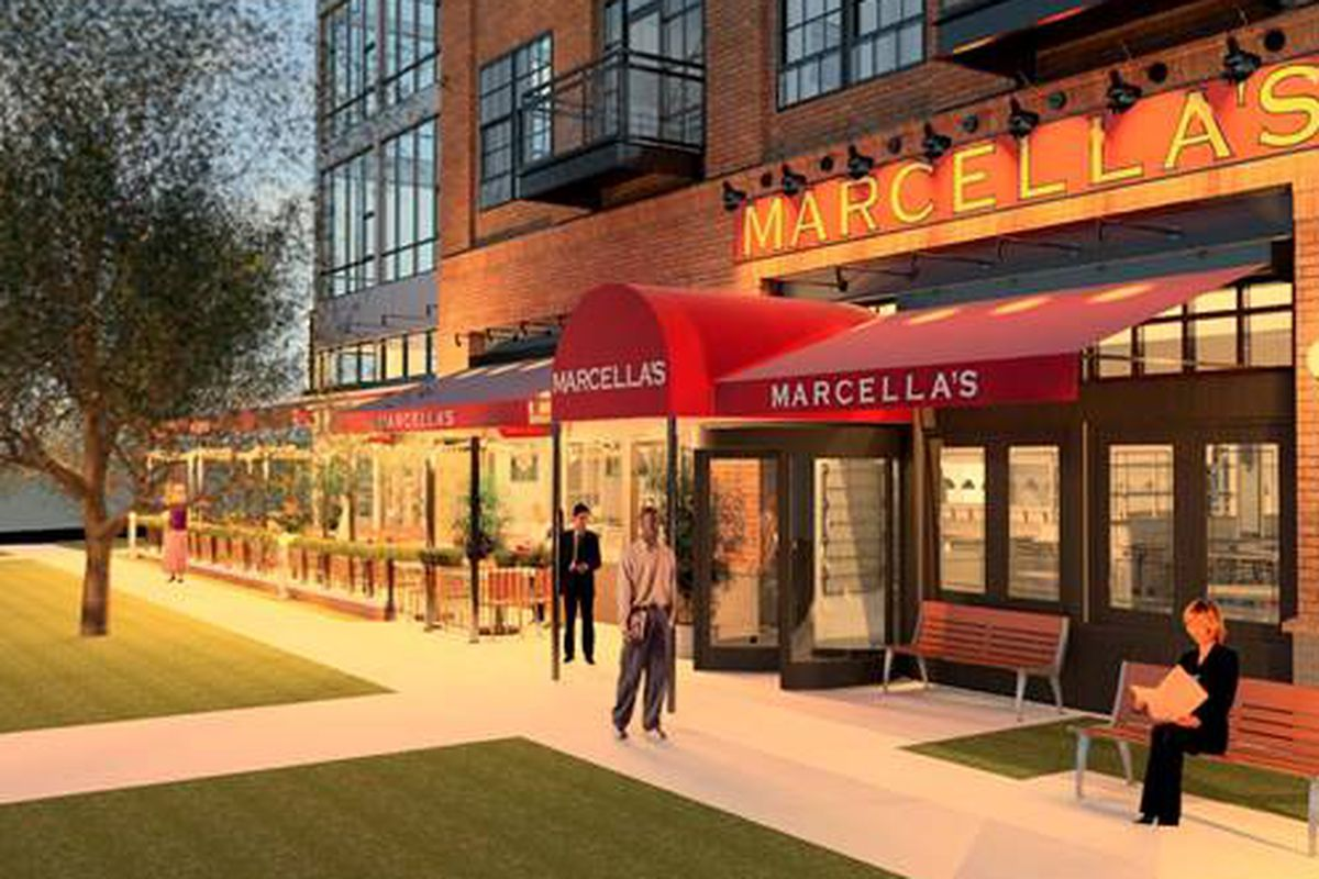 Rendering of Marcella's