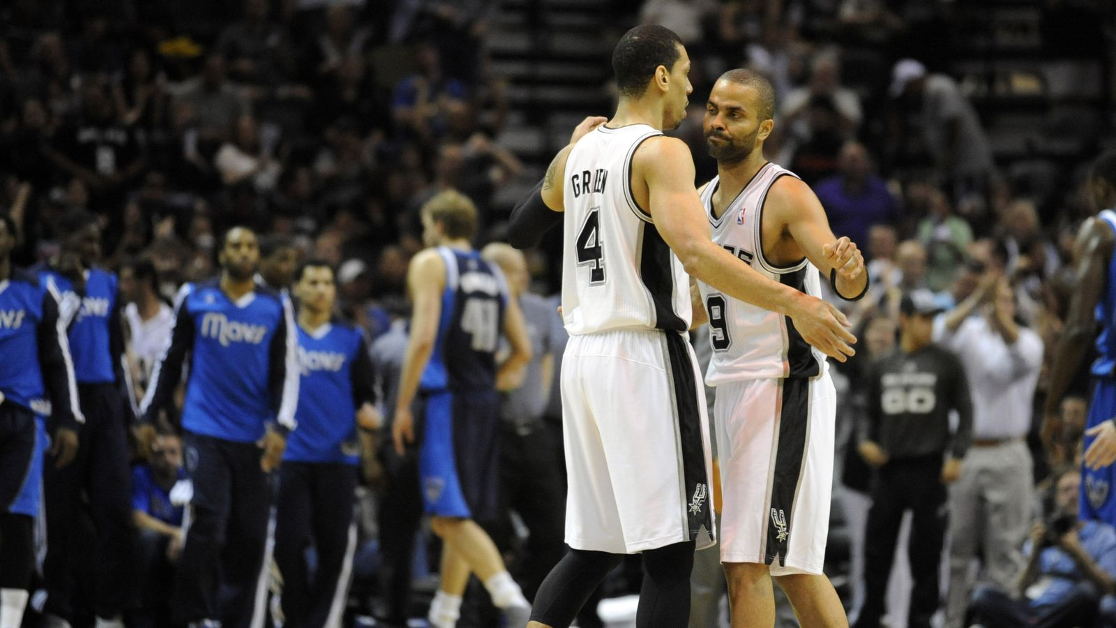 Tony Parker: Father, Spur, Champion...Drama Queen?